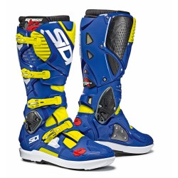 Sidi Boots CROSSFIRE 3 SRS Yellow Fluo / Blue
