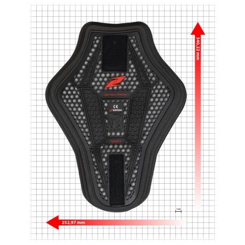 Zandona EsaTech Back Insert Protector (253x340mm)