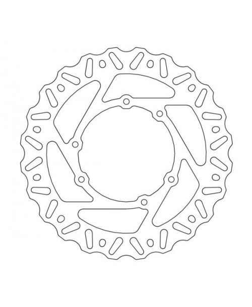 Moto-Master NITRO Fixed Disc 240 - FRONT, LEFT - Cannondale, Honda, Vertemati