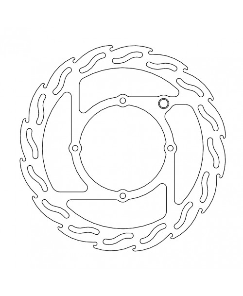 Moto-Master FLAME Fixed Disk 240 - FRONT, LEFT - KTM / Husqvarna / E-Rockit