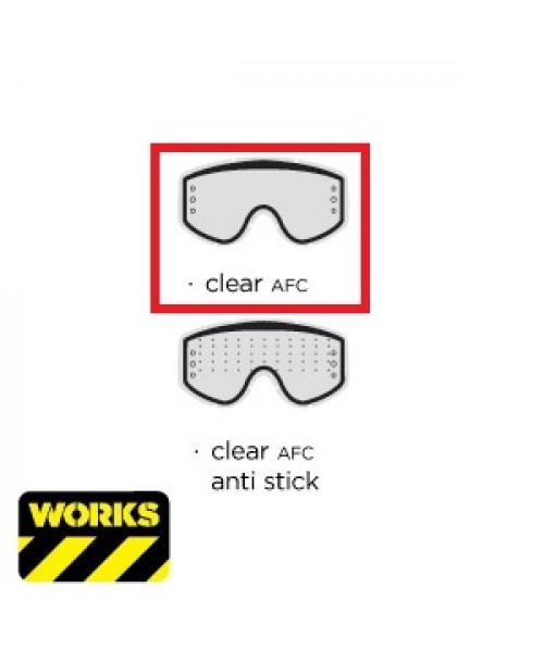 Scott Goggle Lens 80's TML WKS Clear AFC