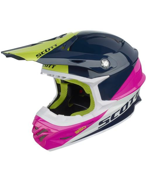 Scott Helmet 350 PRO TROPHY ECE '16 Blue / Pink