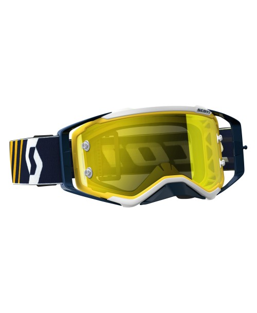 Scott Goggle Prospect Blue/White / Yellow Chrome Works '17