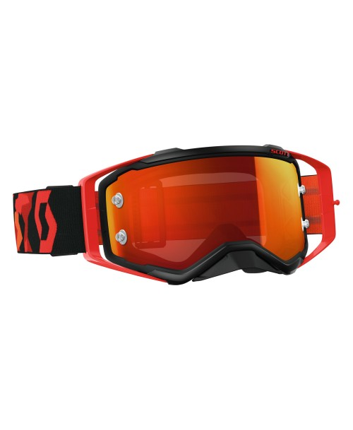 Scott Goggle Prospect Black/Fluo Red / Orange Chrome Works '17