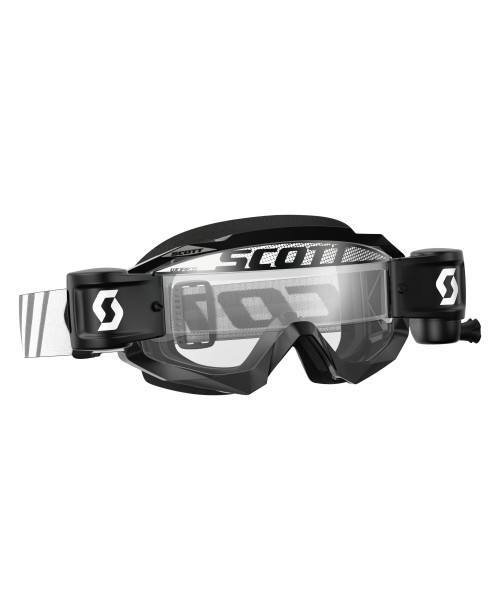 Scott Goggle Hustle MX WFS Black / Clear Works '17