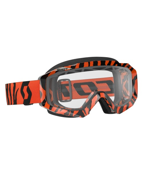 Scott Goggle Hustle MX Enduro Black/Fluo Orange / Clear '17