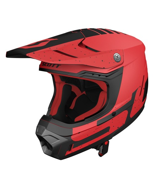 Scott Helmet 350 EVO Plus Team ECE Red / Black