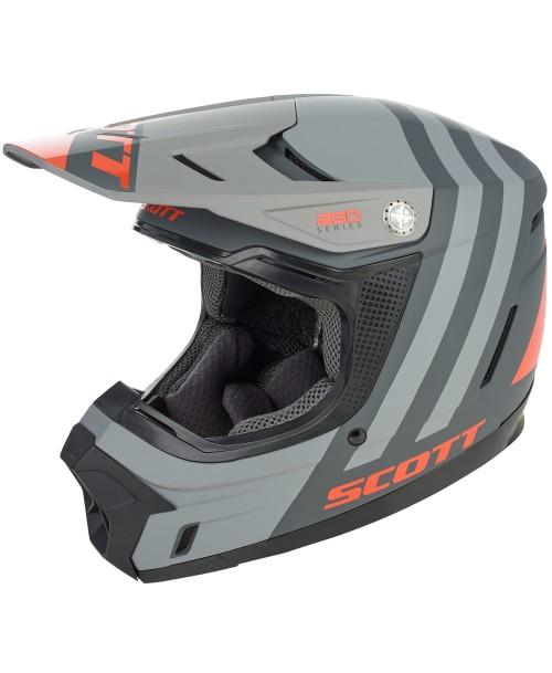 Scott Junior Helmet 350 EVO KID PLUS DASH ECE Black / Orange