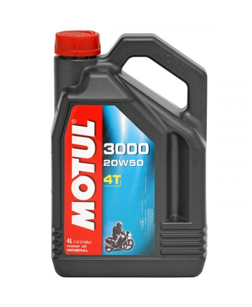 Motul Motor Oil 3000 4T 20W50 4L