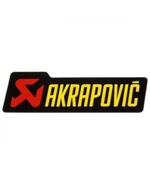 Akrapovič Izpūtēja Uzlīme 150x44mm