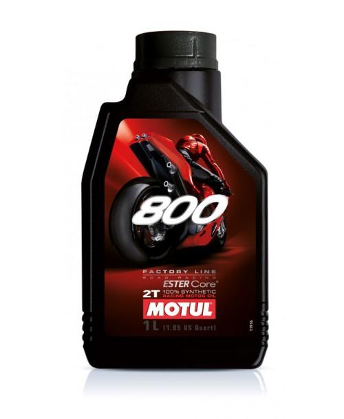 Motul Motor Oil 800 2T Factory Line Road Racing 1L