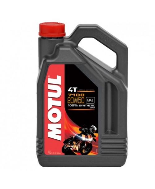 Motul Motoreļļa 7100 4T 20W50 4L