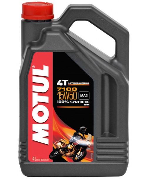Motul Motor Oil 7100 4T 15W50 4L