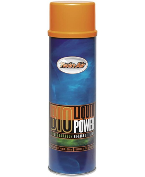 Twin Air Filter Cleaner BIO Liquid Power Oil Spray 0.5L