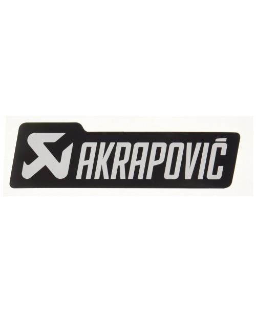 Akrapovič Izpūtēja Uzlīme 127x38mm