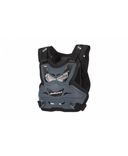 Polisport 80039-1 Chest protector Phantom PRO  grey