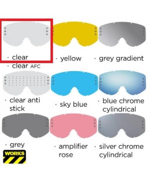 Scott Goggle Lens 80's SGL WKS Clear