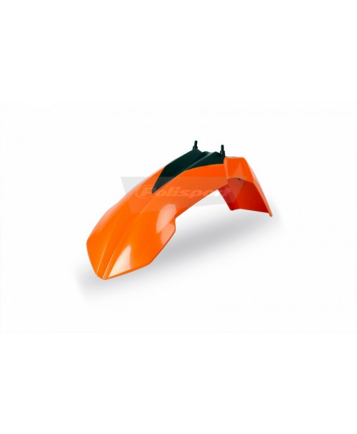 Polisport Front Fender - ORANGE - KTM  65 SX/XC