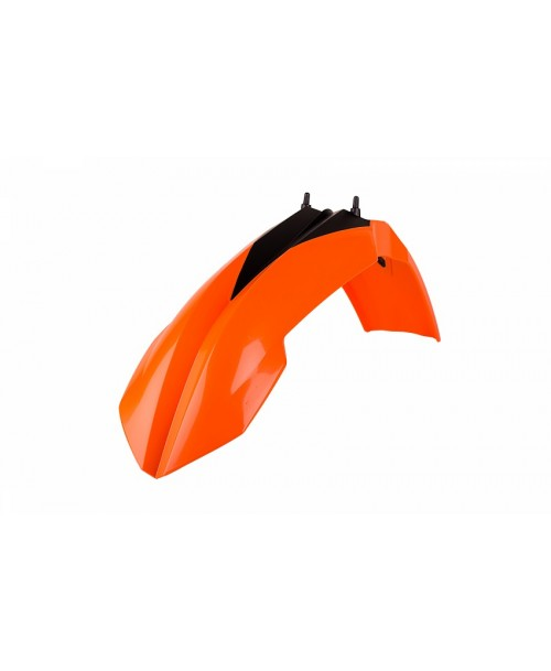 Polisport Front Fender - ORANGE - KTM 85SX