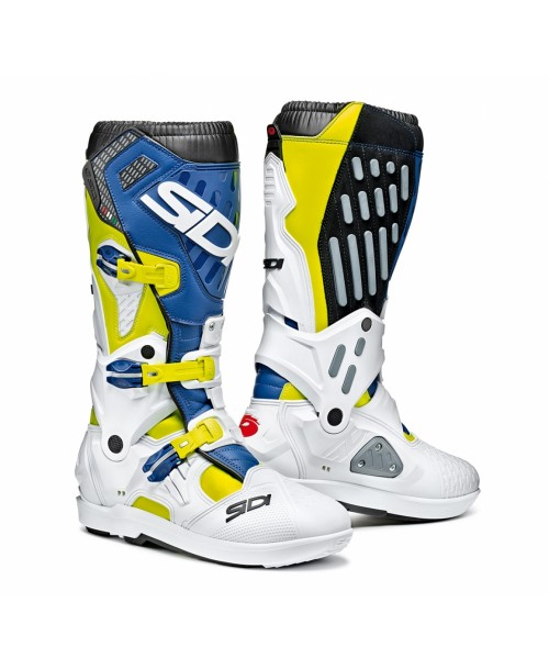 Sidi Boots ATOJO SRS Yellow Fluo / White / Blue