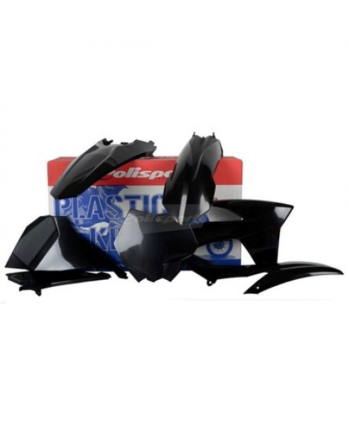 Plast. kompl. KTM SX 11 black 90407
