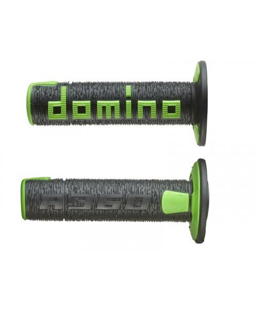 Rokturi Domino - A360 melns/zaļš