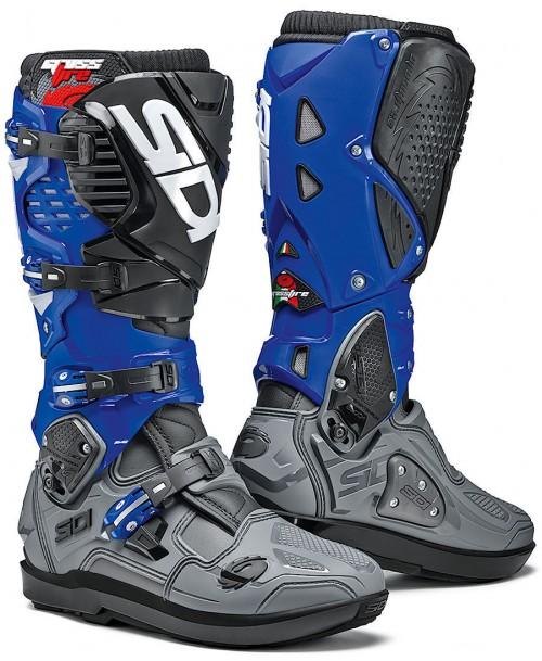 Sidi Boots CROSSFIRE 3 SRS Grey / Blue / Black