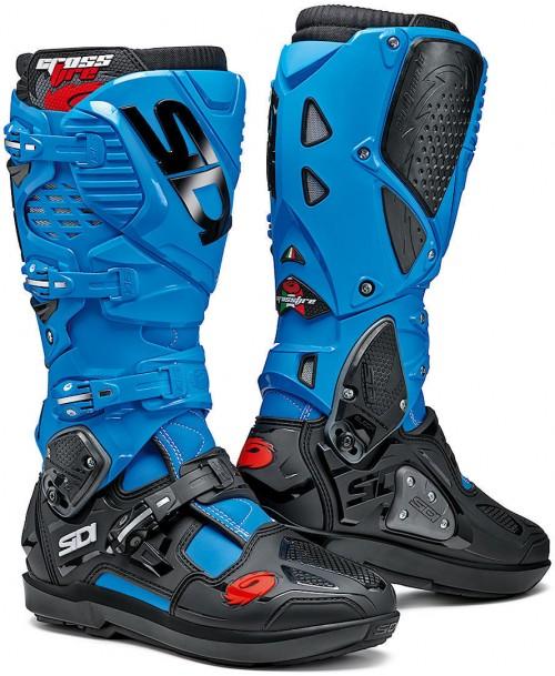 Sidi Boots CROSSFIRE 3 SRS Light Blue / Black