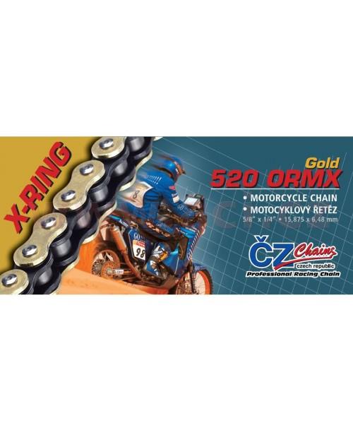 Ķēde CZ520 ORMX Gold  118L