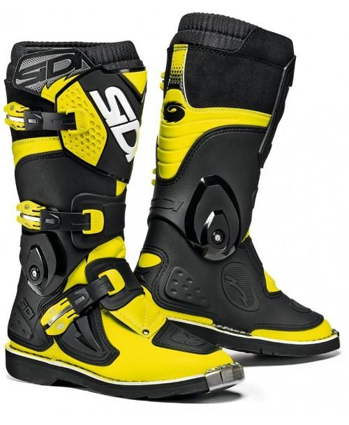 Sidi Kids Boots FLAME Black / Yellow