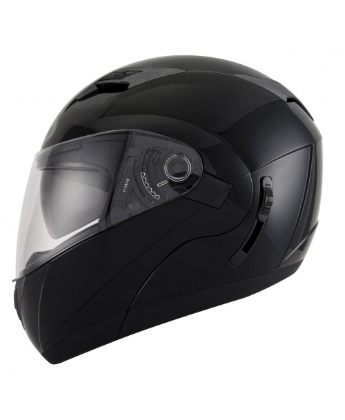 KYT Helmet CONVAIR Plain Black