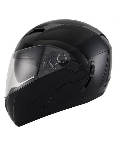KYT Helmet CONVAIR Plain Black