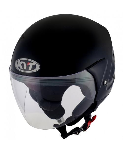 KYT Helmet COUGAR Plain Black