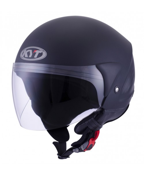 KYT Helmet COUGAR Plain Matt Black