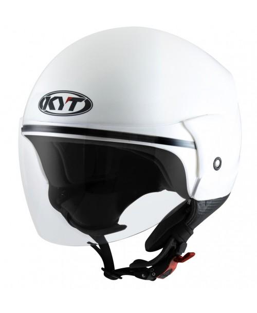 KYT Helmet COUGAR Plain White