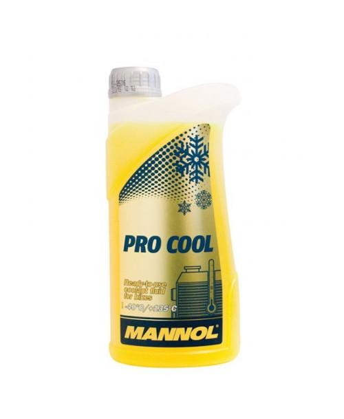 Mannol PRO COOL Coolant Fluid -40°C / +135°C 1L