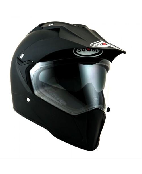 Suomy Helmet MX TOURER Plain Matt Black