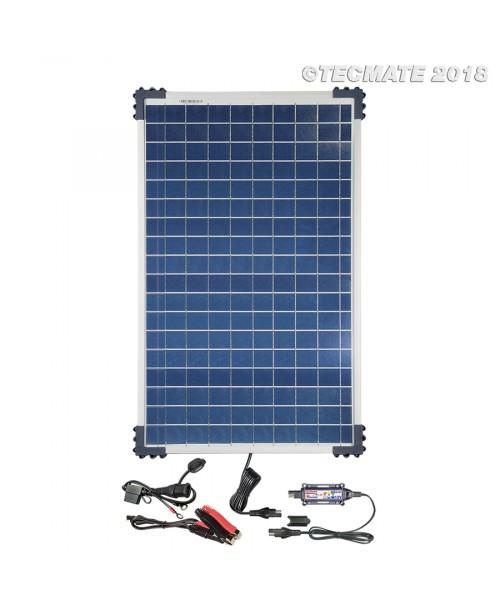 TecMate OptiMate SOLAR Lādētājs / Testeris / Uzturētājs +40W Solārais Panelis