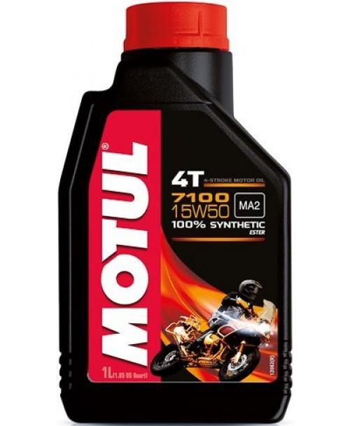 Motul Motoreļļa 7100 4T 15W50 1L