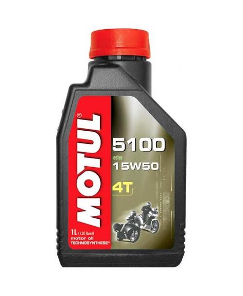 Motul Motoreļļa 5100 4T 15W50 1L