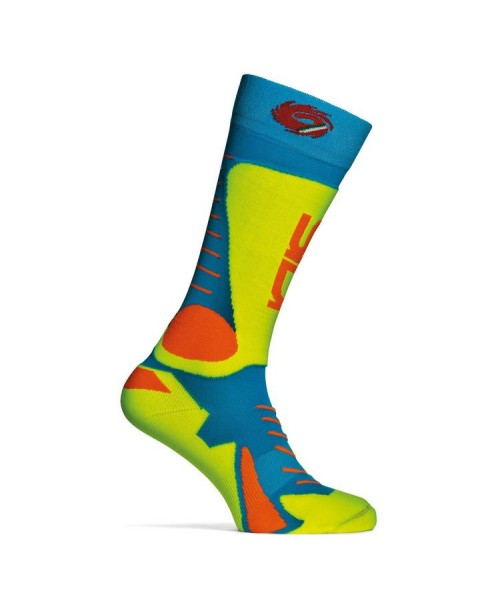 Sidi Socks TONY Light Blue / Yellow