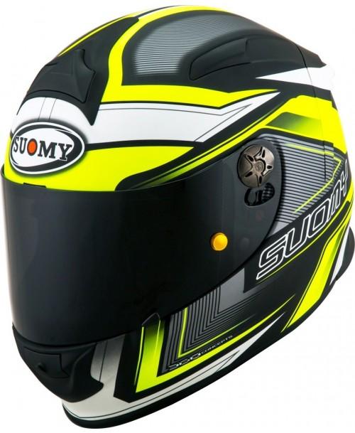 Suomy Helmet SR-SPORT Engine Matt Black / Yellow
