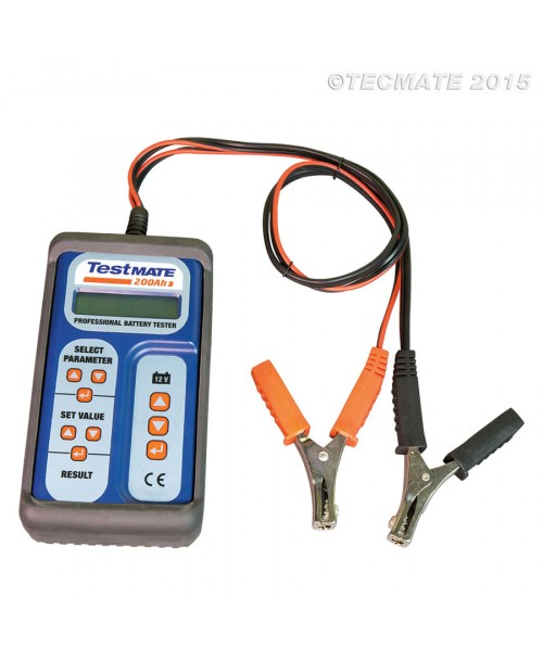 TecMate TestMate AUTO 200Ah Battery System Analyzer