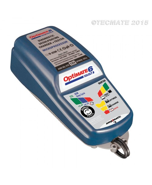 Tecmate Battery Charger OptiMate 6 Select