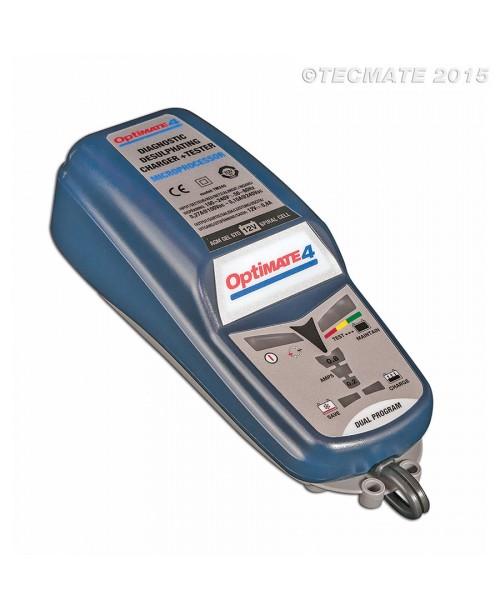 Tecmate Akumulatoru Lādētājs OptiMate 4 DUAL