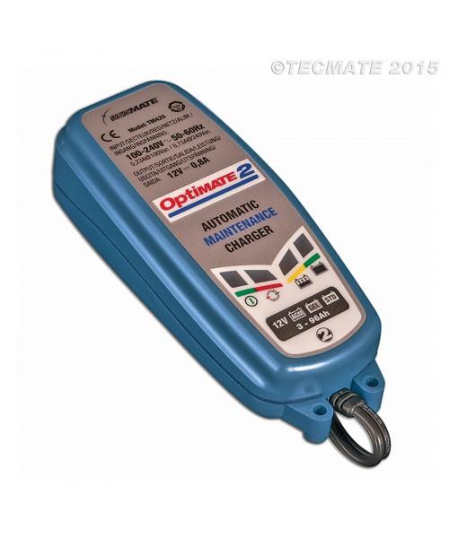 TecMate Akumulatoru Lādētājs Optimate 2