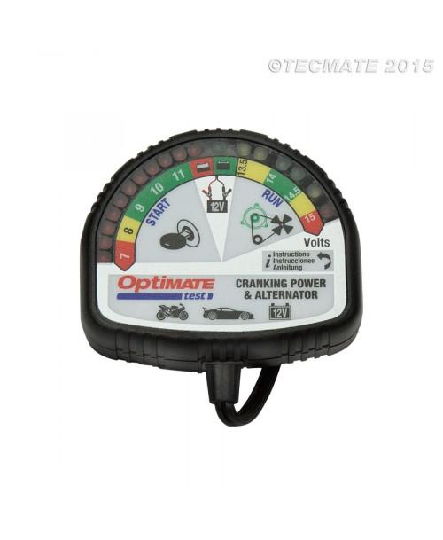 Tecmate Akumulatoru Testeris TS120N Cranking Power & Alternator