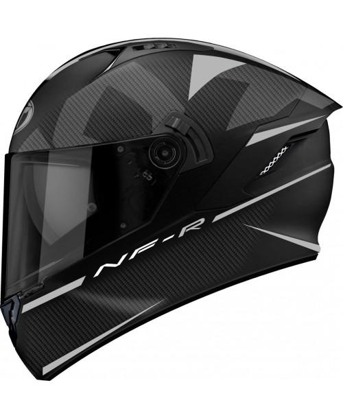 KYT Helmet NF-R LOGOS Matt Grey