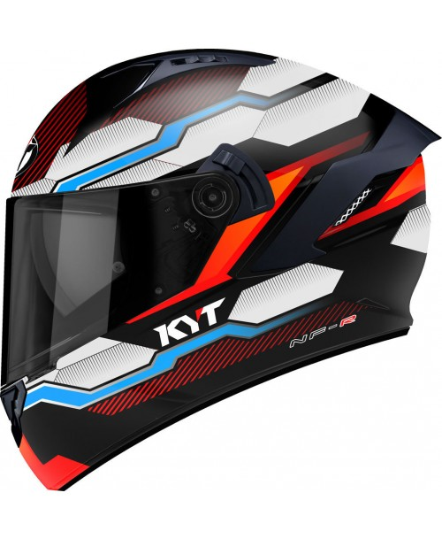 KYT Helmet NF-R HEXAGON Orange