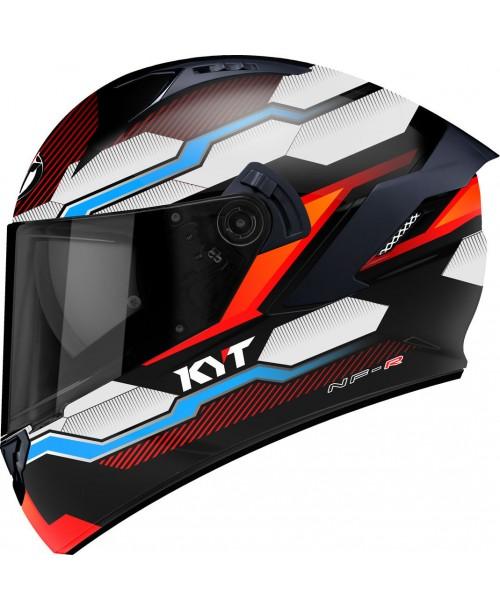 KYT Helmet NF-R HEXAGON Orange